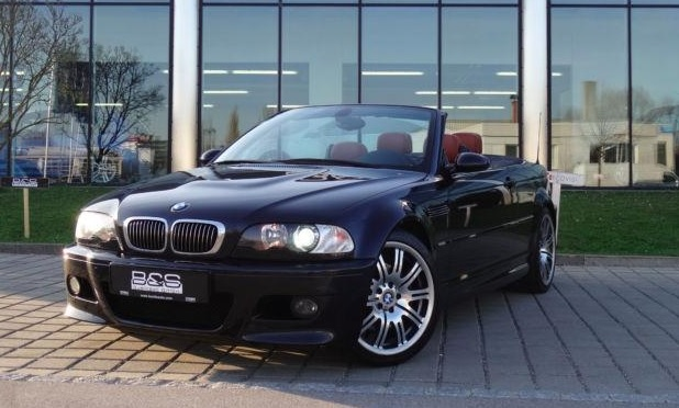 lhd BMW M3 (05/2002) - BLACK METALLIC - lieu: