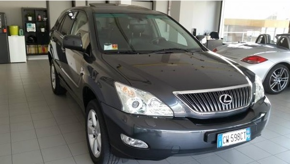 lhd LEXUS RX 300 (06/2006) - DARK GREY METALLIC - lieu:
