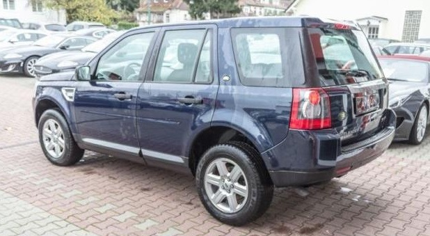 LANDROVER FREELANDER (02/1010) - BLUE METALLIC - lieu: