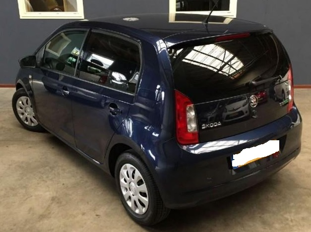 SKODA CITIGO (06/2013) - BLUE - lieu:
