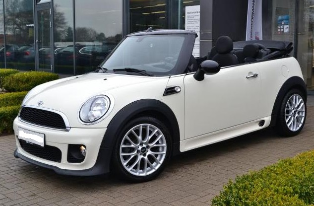 lhd MINI COOPER (01/2013) - CREAM - lieu: