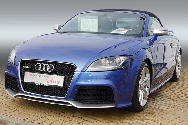 AUDI TT (03/2013) - BLUE METALLIC - lieu: