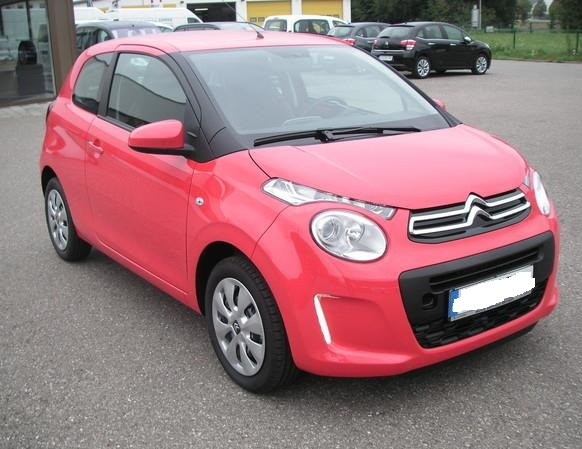 CITROEN C1 (10/2012) - RED - lieu: