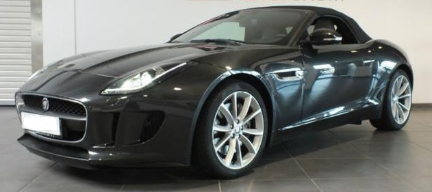 lhd JAGUAR F TYPE (05/2013) - STRATUS GREY METALLIC - lieu: