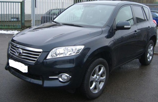 lhd TOYOTA RAV 4 (11/2011) - DARK BLUE METALLIC - lieu: