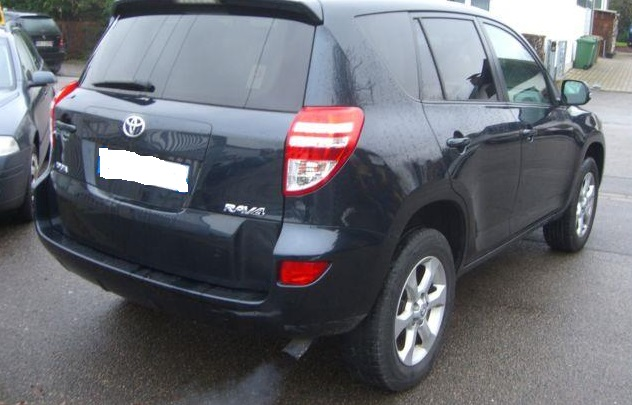 TOYOTA RAV 4 (11/2011) - DARK BLUE METALLIC - lieu: