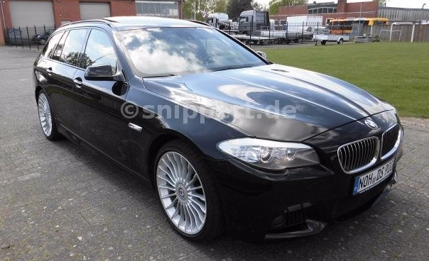 lhd BMW 5 SERIES (12/2011) - CARBON BLACK METALLIC - lieu:
