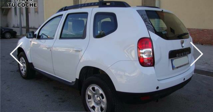 lhd car DACIA DUSTER (07/2014) - white - lieu: